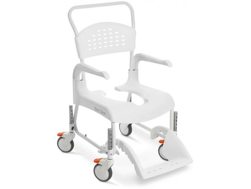 Regulowany wózek pod prysznic Etac Clean.