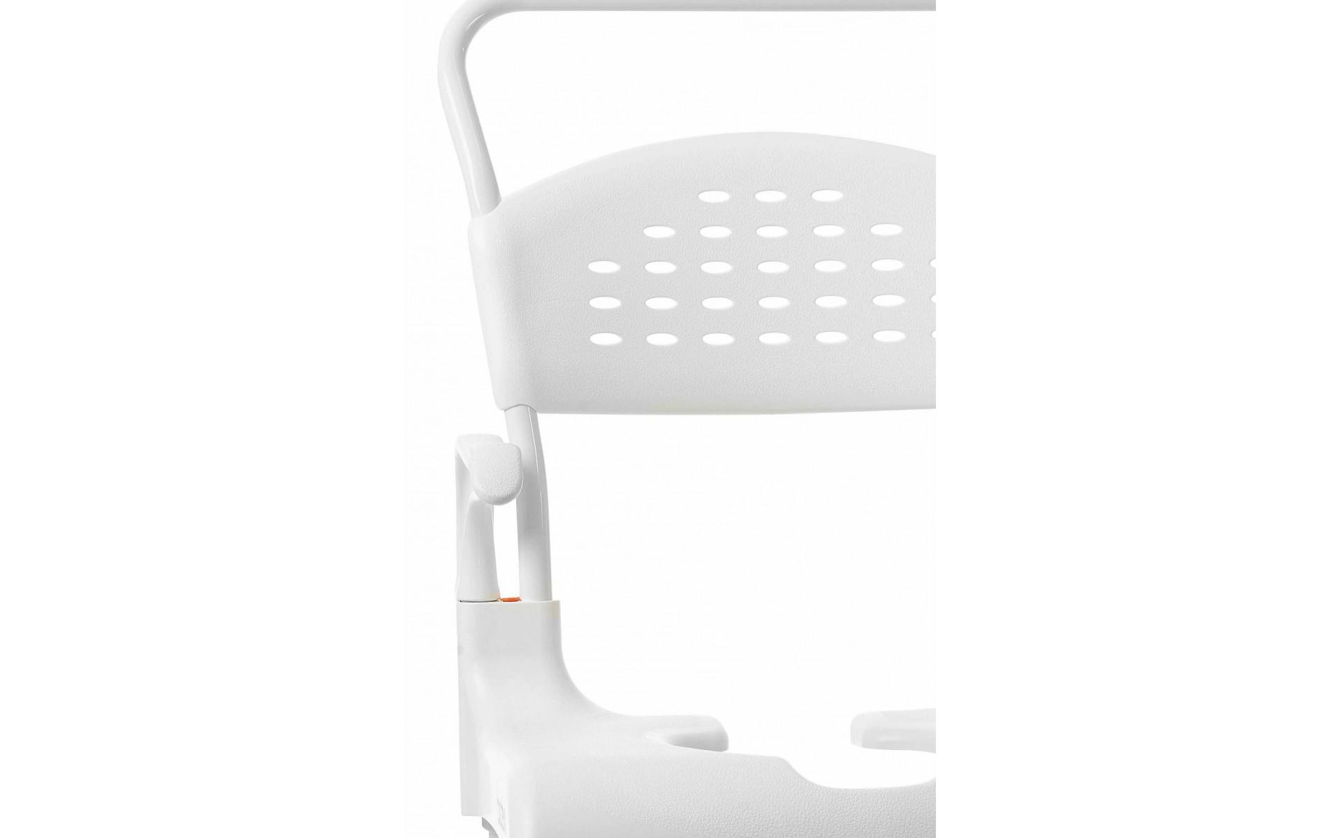 Wózek prysznicowy Etac Clean - wygodny, trwały i niezawodny.