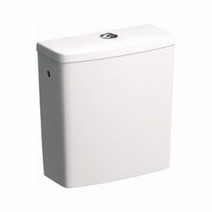 Spłuczka prostokątna do miski WC dla seniora lub osoby niepełnosprawnej.