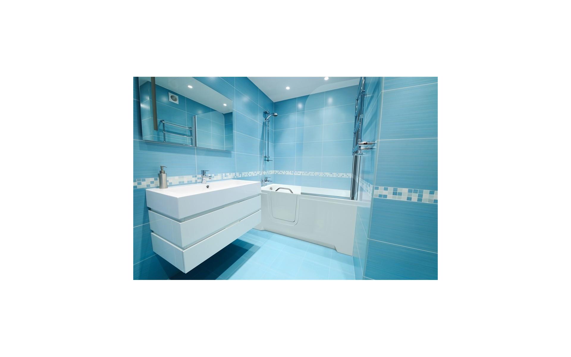 Wanna z drzwiczkami RELAX doskonale wkomponuje się w każdą łazienkę.