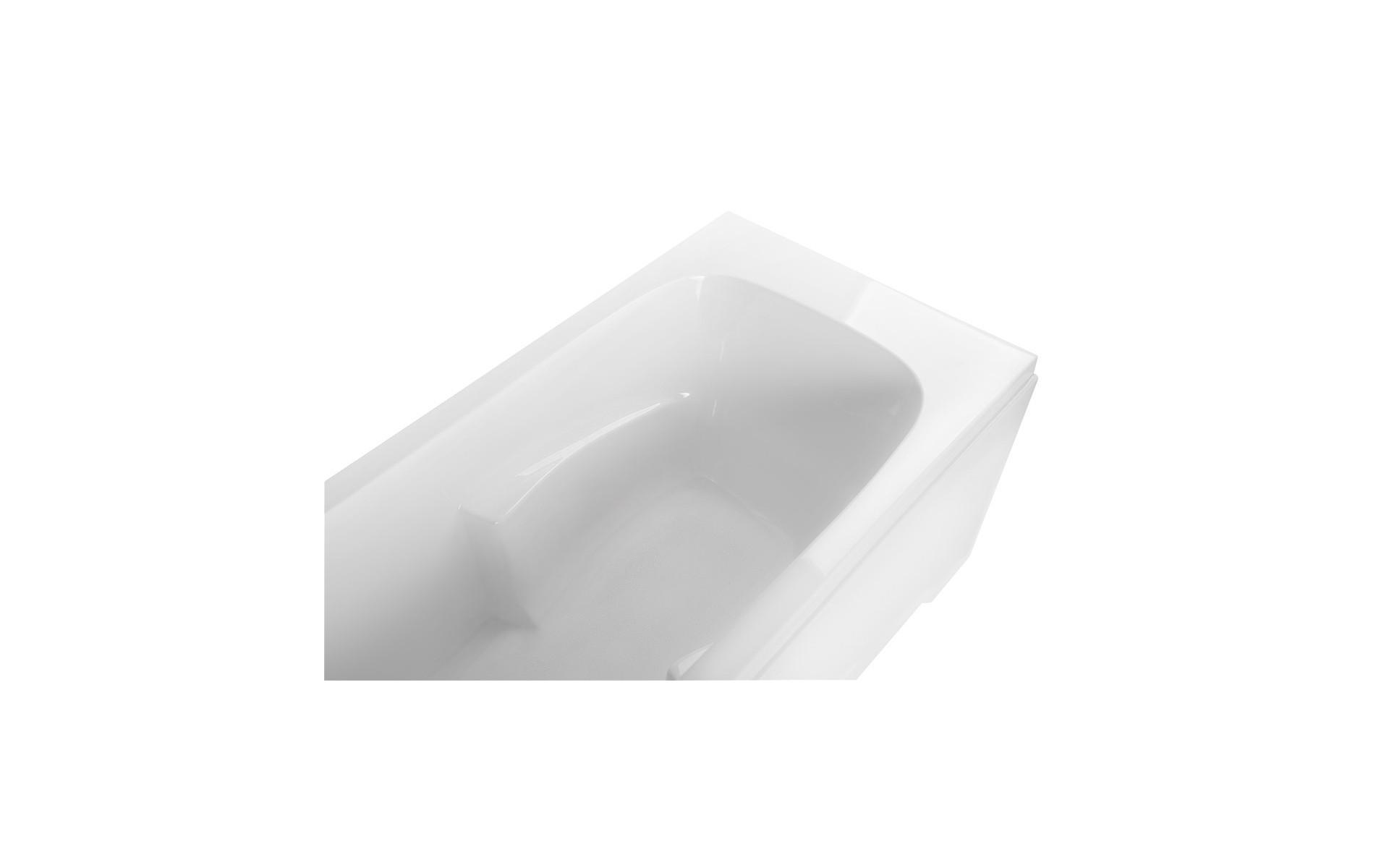 Ergonomiczne podłokietniki pozwalają wygodniej korzystać z kąpieli.
