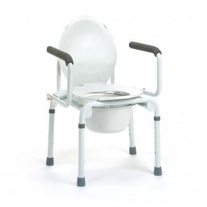 Krzesło toaletowe z podłokietnikami Vermeiren Stacy.