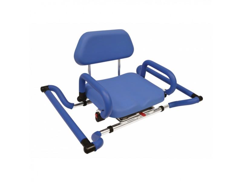 Krzesło obrotowe do wanny dla niepełnosprawnych.