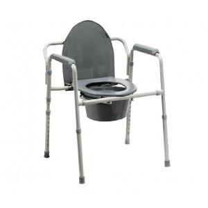 Składane krzesło toaletowe.