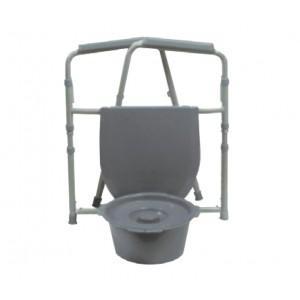Krzesło sanitarne składane.