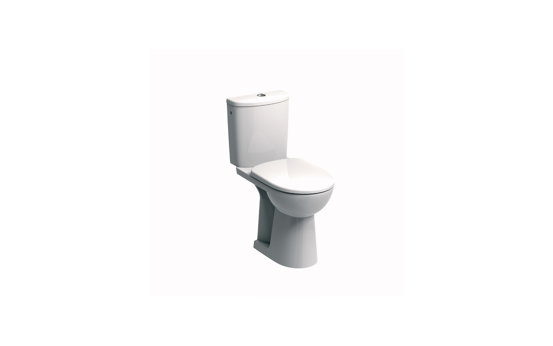 WC dla niepełnosprawnych KOŁO ze spłuczką owalną.