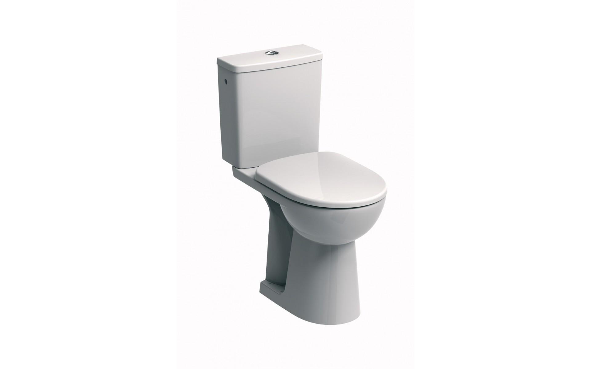 WC dla niepełnosprawnych KOŁO ze spłuczką prostokątną.