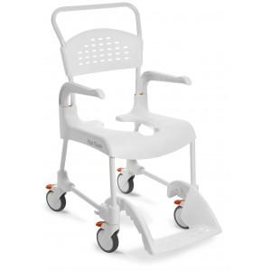 Wózek prysznicowy Etac Clean biały.