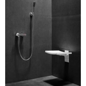 Siedzisko prysznicowe składane Besco Active.