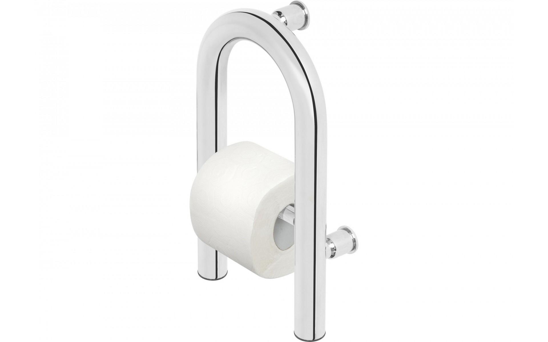 Uchwyt toaletowy to doskonała pomoc w trakcie korzystania z toalety.
