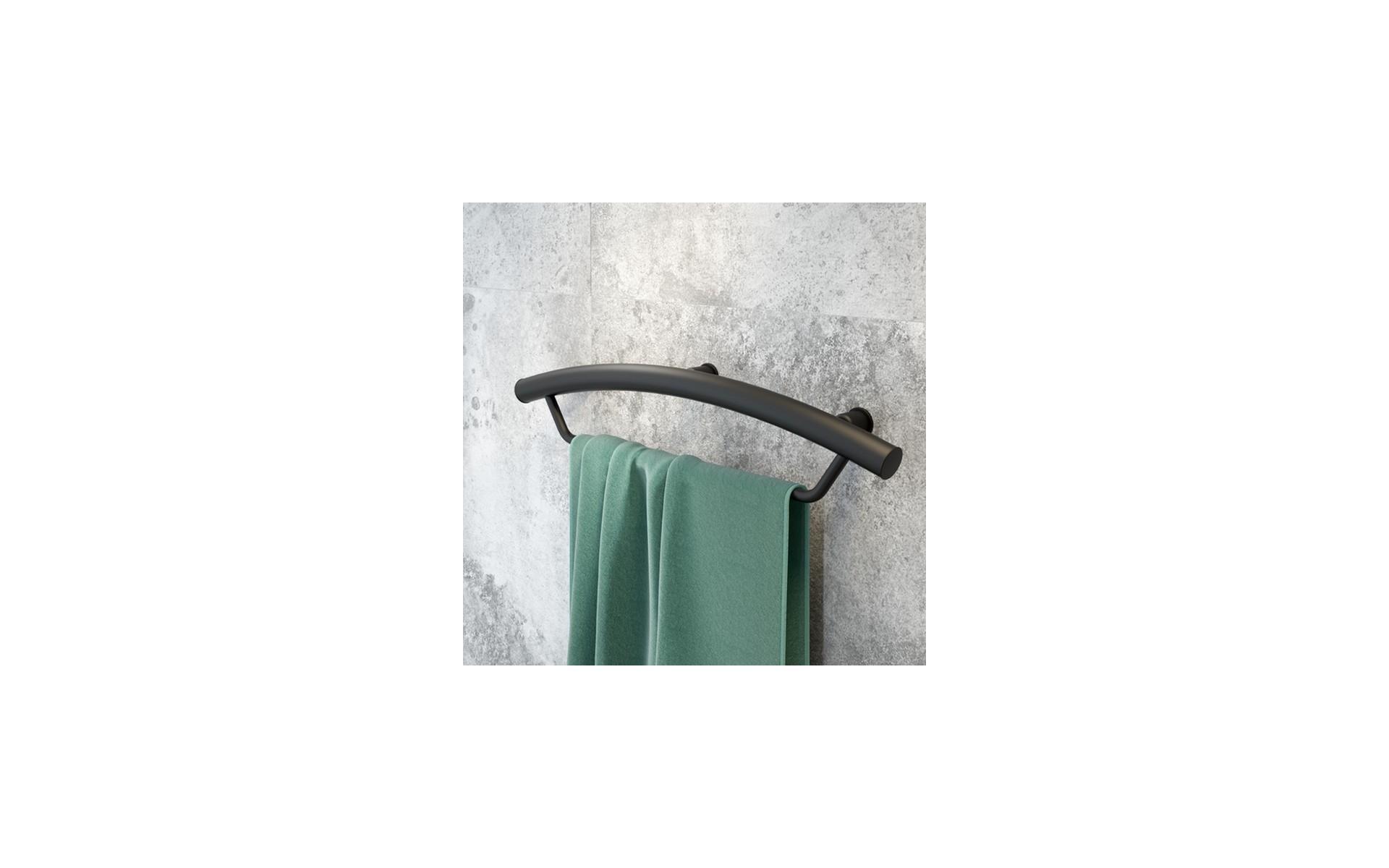 Uchwyt dla niepełnosprawnych 2 w 1 - z wieszakiem na ręcznik.