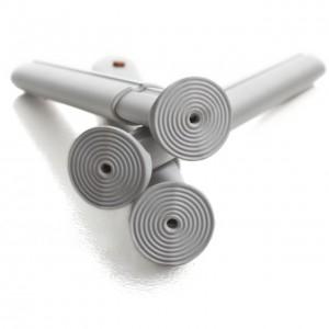 Specjalny kształt nóżek zwiększa antypoślizgowe działanie materiału.