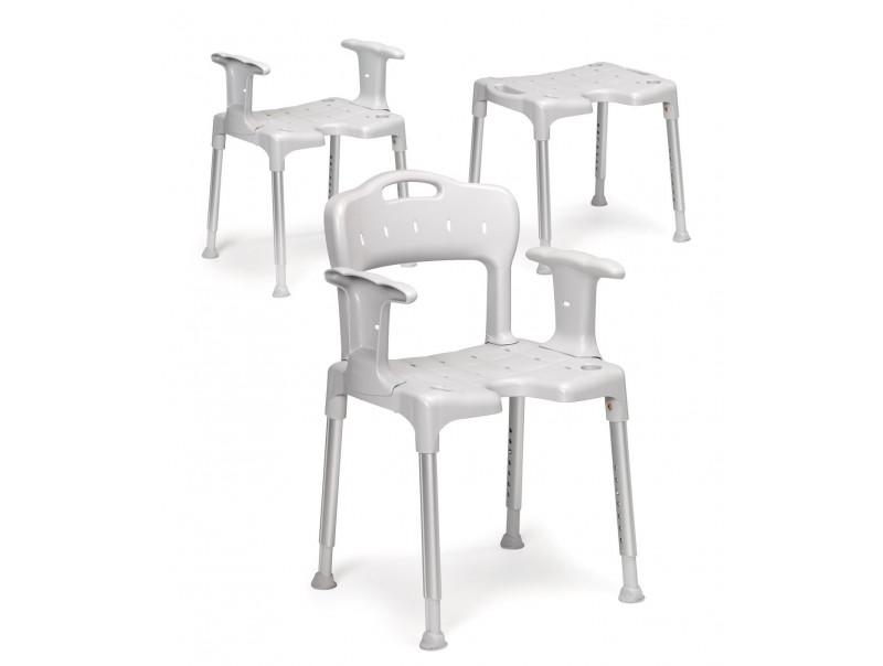 Krzesło pod prysznic Etac Swift ma wiele zastosowań.