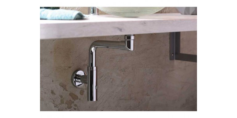Syfon do umywalki dla osoby niepełnosprawnej
