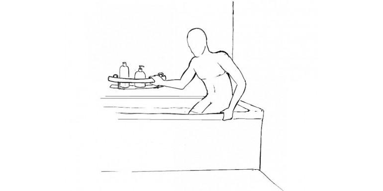 Poręcze łazienkowe 2w1 - Deante Vital