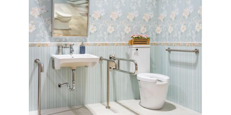 Wyposażenie łazienki dla niepełnosprawnych i dla osób starszych. Porady i wskazówki